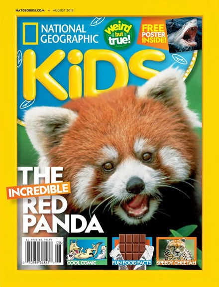 National Geographic Kids Cover - 8/1/2018