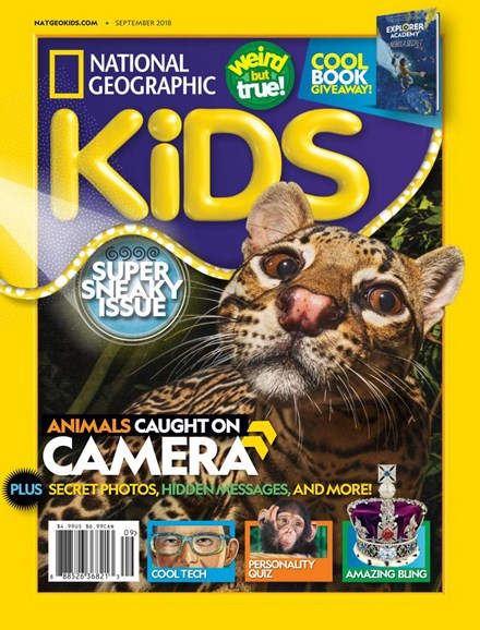 National Geographic Kids Cover - 9/1/2018