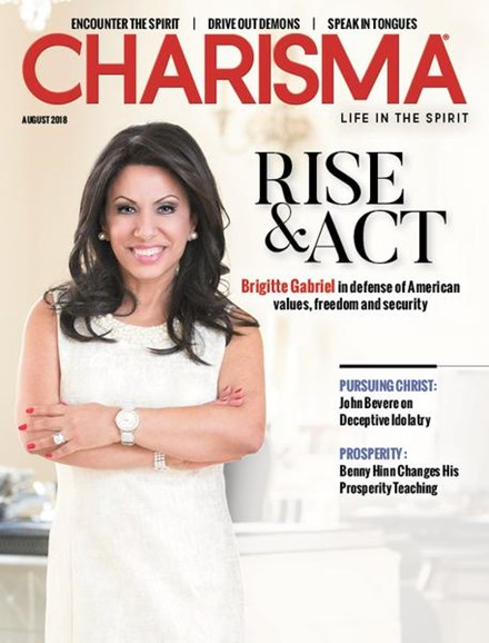 Charisma Cover - 8/1/2018