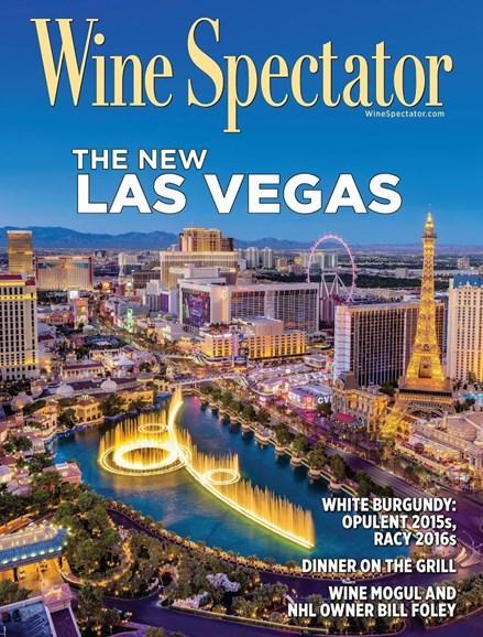 Wine Spectator Cover - 9/30/2018