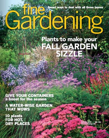 Fine Gardening Cover - 10/1/2018