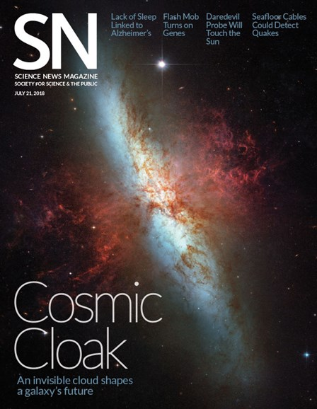 Science News Cover - 7/21/2018