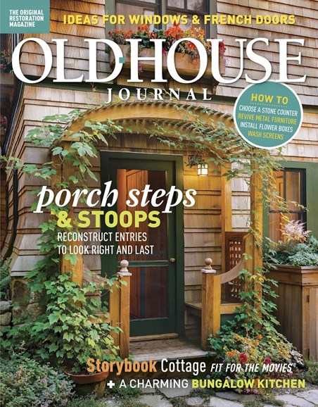Old House Journal Cover - 7/1/2018