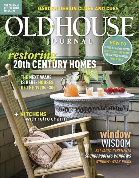 Old House Journal Cover - 6/1/2018