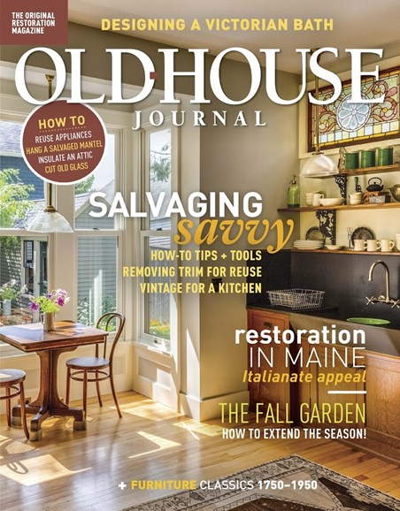 Old House Journal Cover - 9/1/2018