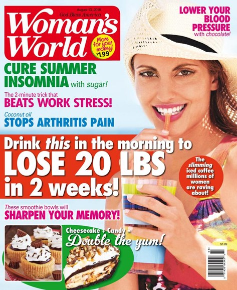 Woman's World Cover - 8/13/2018