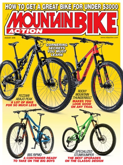 Mountain Bike Action Cover - 8/1/2018