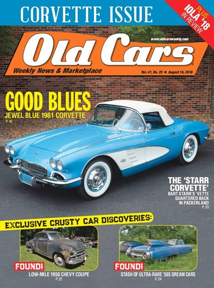 Old Cars Cover - 8/16/2018