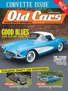 Old Cars Weekly Magazine 8/16/2018