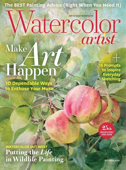 Watercolor Artist Cover - 10/1/2018