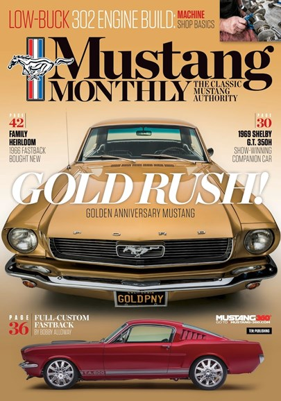 Mustang Monthly Cover - 9/1/2018
