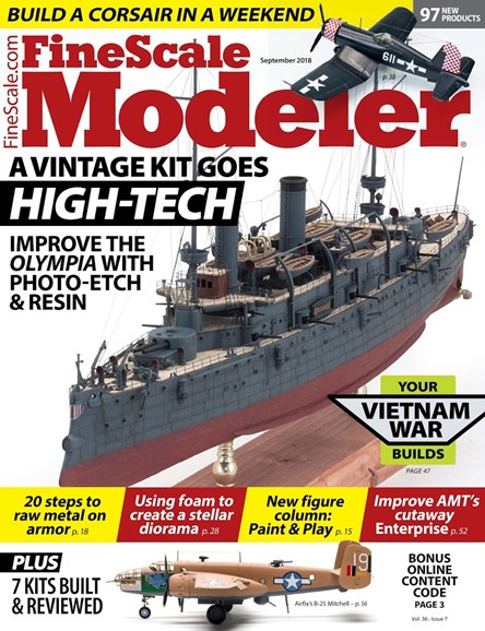 Finescale Modeler Cover - 9/1/2018