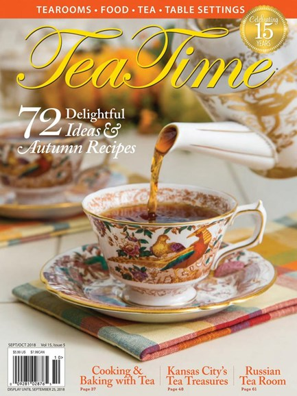 Tea Time Cover - 9/1/2018