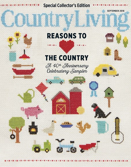 Country Living Cover - 9/1/2018
