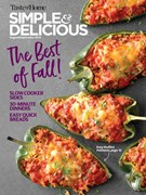 Simple & Delicious Magazine 8/1/2018