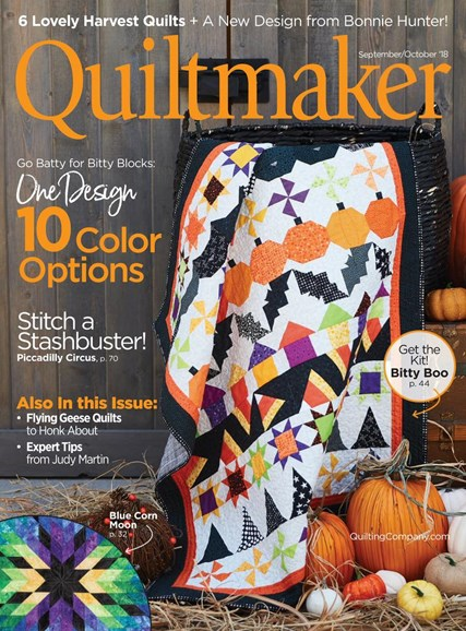 Quiltmaker Cover - 9/1/2018