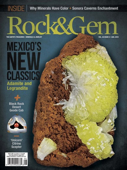 Rock & Gem Cover - 8/1/2018