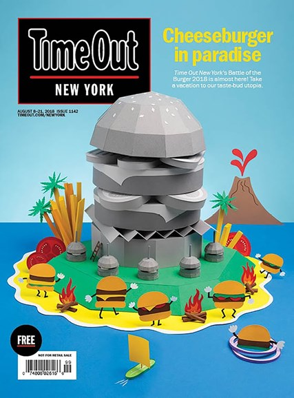 Time Out New York Cover - 8/8/2018