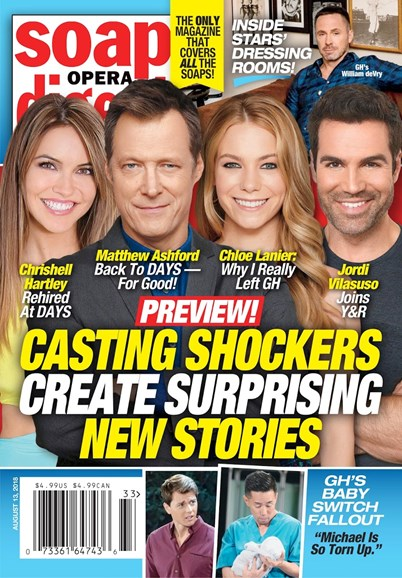 Soap Opera Digest Cover - 8/13/2018