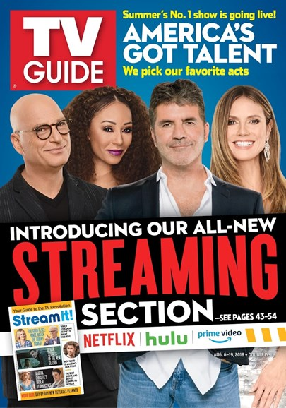 TV Guide Cover - 8/6/2018