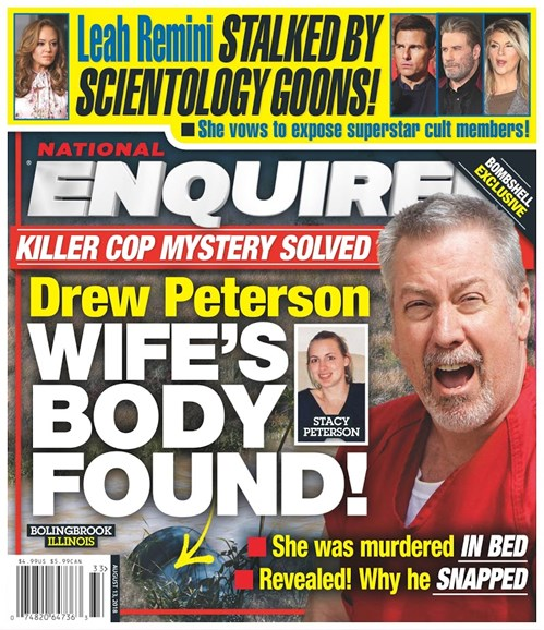 National Enquirer Cover - 8/13/2018
