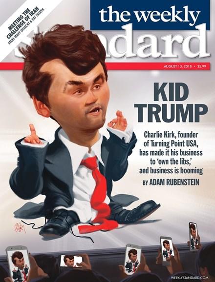 Washington Examiner Cover - 8/13/2018