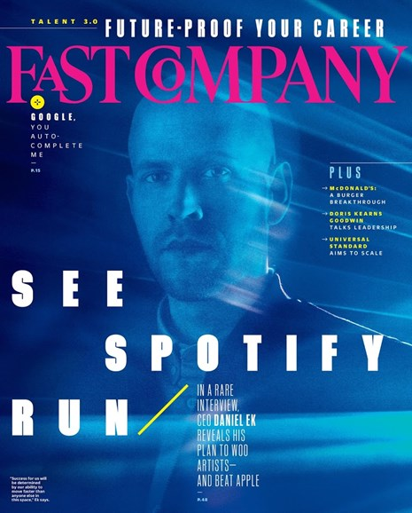 Fast Company Cover - 9/1/2018