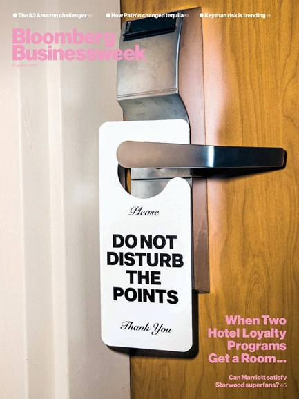 Bloomberg Businessweek Cover - 8/6/2018