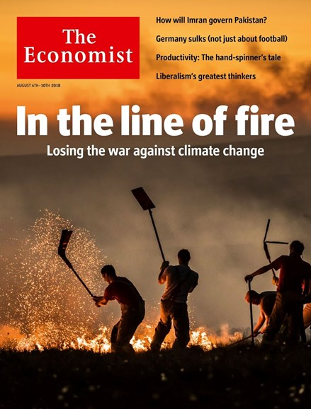The Economist Cover - 8/4/2018