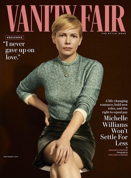 Vanity Fair Cover - 9/1/2018