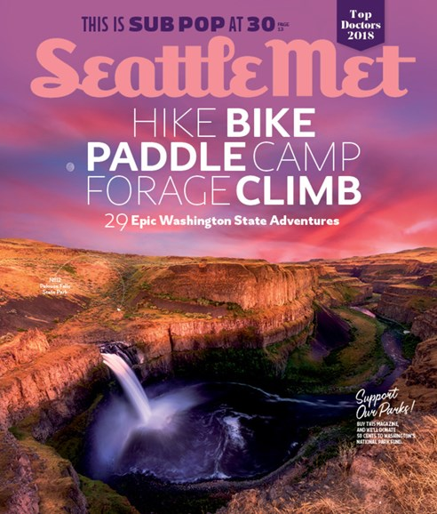 Seattle Met Cover - 8/1/2018