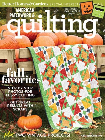 American Patchwork & Quilting Cover - 10/1/2018