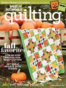 American Patchwork & Quilting Magazine 10/1/2018