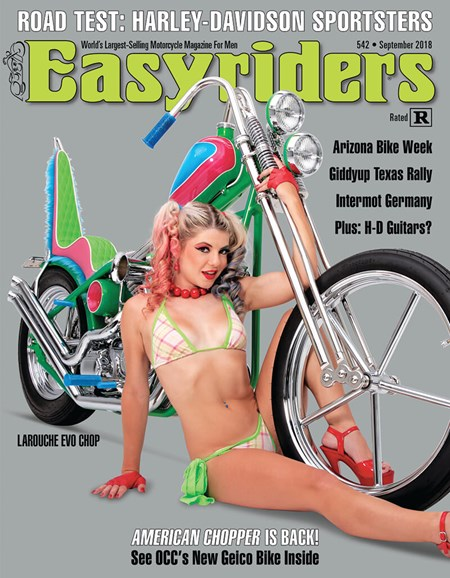 Easyriders Cover - 9/1/2018