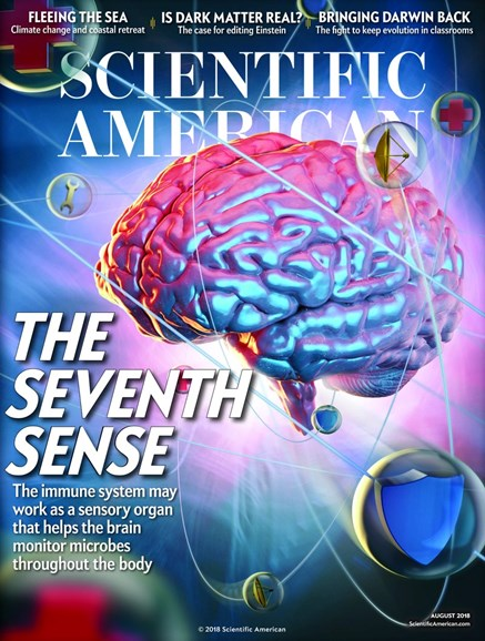 Scientific American Cover - 8/1/2018