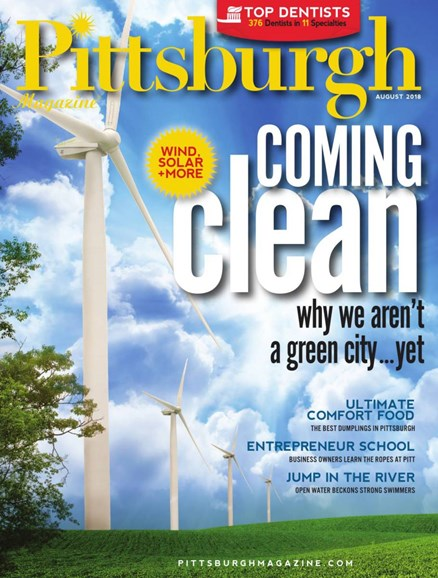 Pittsburgh Magazine Cover - 8/1/2018