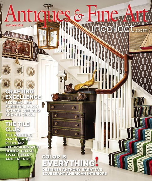 Antiques & Fine Art Cover - 9/1/2018