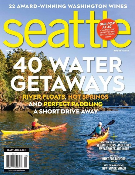 Seattle Magazine Cover - 8/1/2018