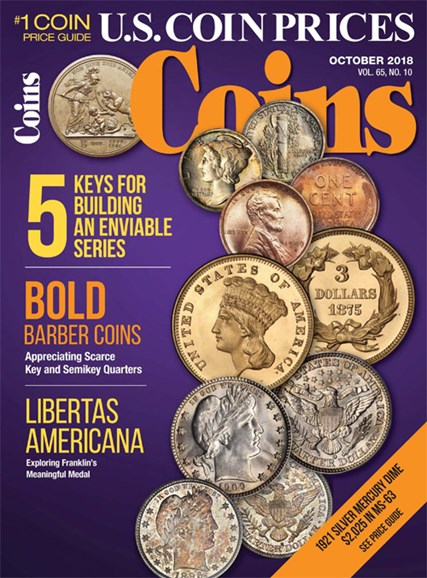Coins Cover - 10/1/2018