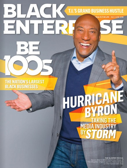 Black Enterprise Cover - 5/1/2018
