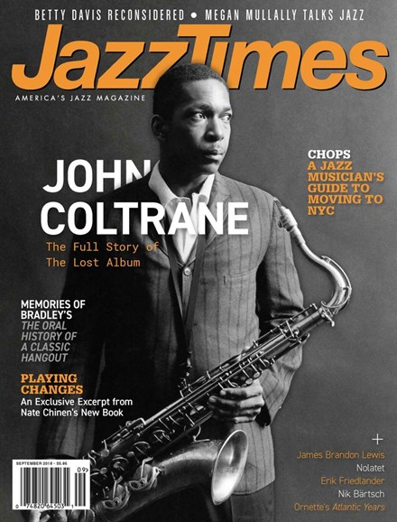 JazzTimes Cover - 9/1/2018