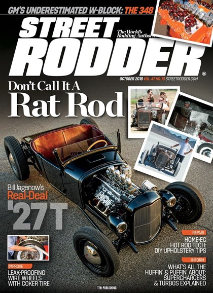 Street Rodder Cover - 10/1/2018