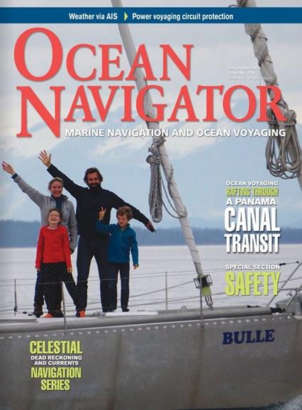 Ocean Navigator Cover - 9/1/2018