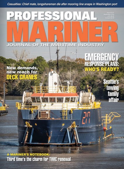 Professional Mariner Cover - 9/1/2018
