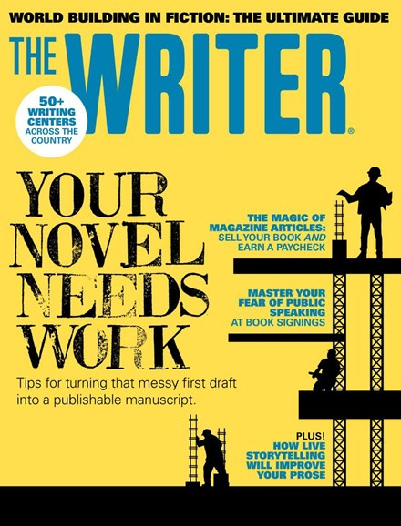 The Writer Cover - 9/1/2018