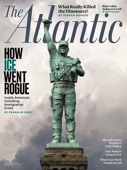 The Atlantic Cover - 9/1/2018