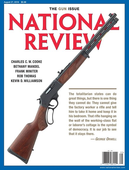 National Review Cover - 8/27/2018