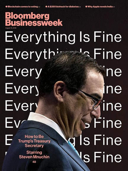 Bloomberg Businessweek Cover - 8/13/2018