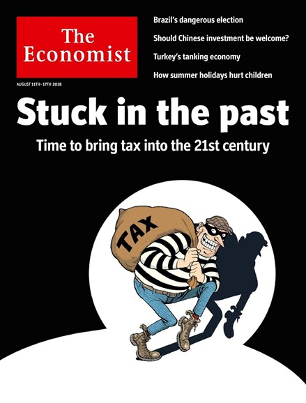 The Economist Cover - 8/11/2018