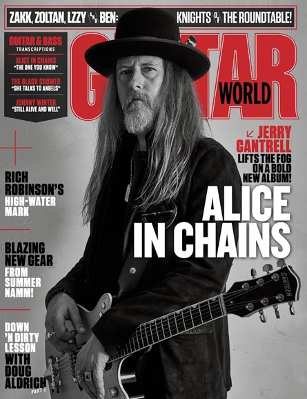Guitar World Cover - 10/1/2018
